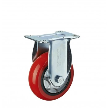Roda PU Medium Duty Vintech Plat Mati