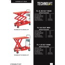hand scissor lift table techno lift